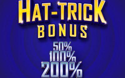 Hat Trick Bonus
